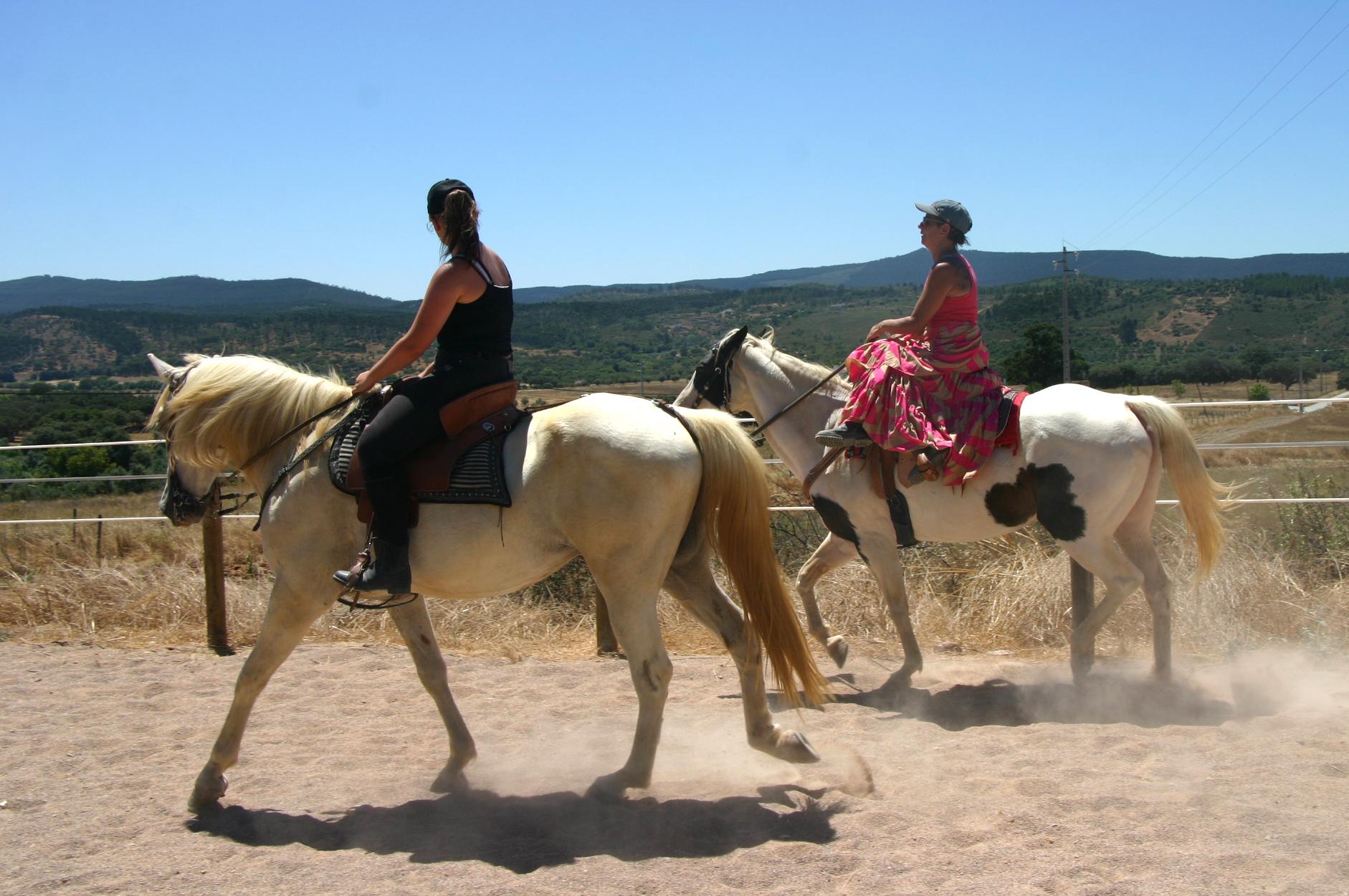 Aulas de equitação no Monte das Estevas